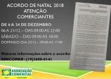 ACORDO DE NATAL!